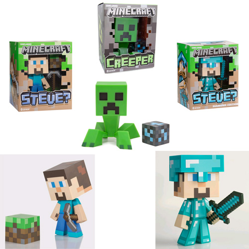 "Minecraft Figures - 6"" Vinyl Assortment"