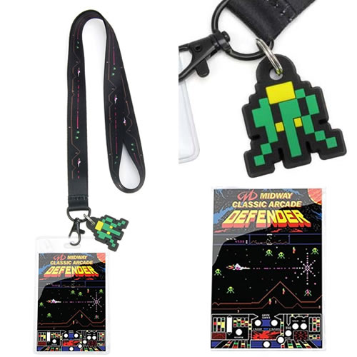 Lanyards - Midway Games - Defender