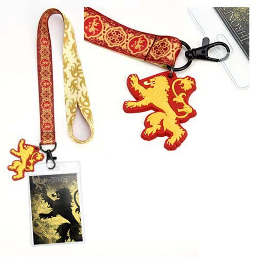 Lanyards - Game Of Thrones - House Lannister