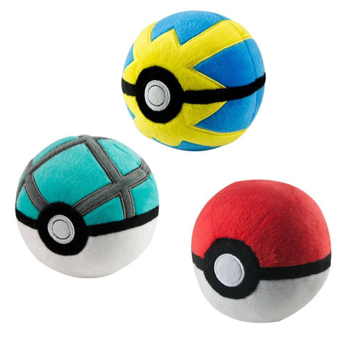 Pokémon Plush - Poké Ball Assortment D3