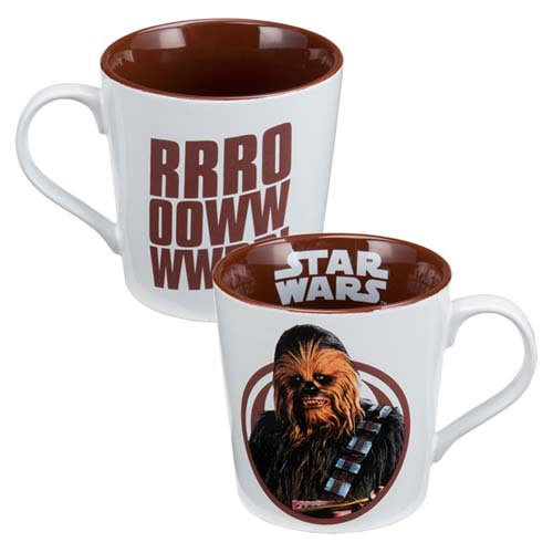 Drinkware - Star Wars - 12 oz. Chewbacca Ceramic Mug