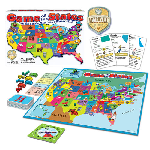 Boardgames - Game Of The States