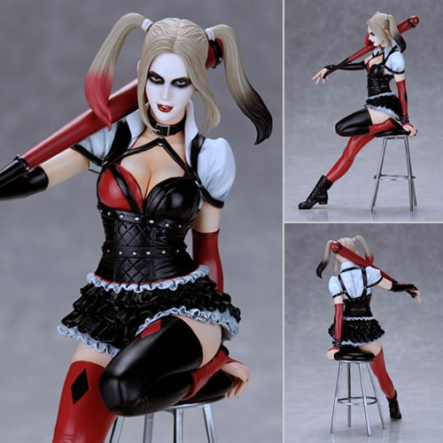 Fantasy Figure Gallery Statues - DC Comics Collection Harley Quinn PVC Statue (Luis Royo)