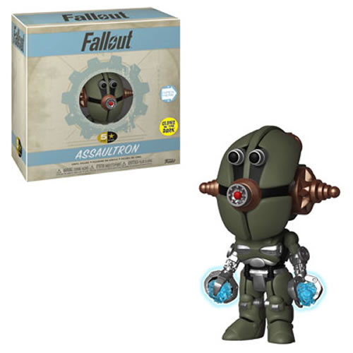 5 Star Vinyl Figures - Fallout - Assaultron (GITD)