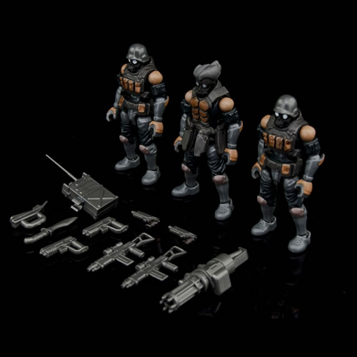 Acid Rain Figures - B2Five Bucks Team Trooper Set