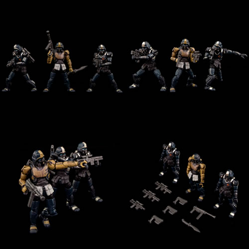 Acid Rain Figures - B2Five - Abaddon Trooper 3-Pack