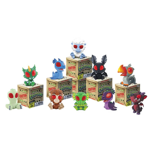 Cryptkins Vinyl Figures - 12pc Mini Figure Blind Box Display