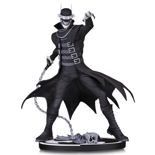 Batman B&W Statues - Batman Who Laughs By Jonathan Matthews