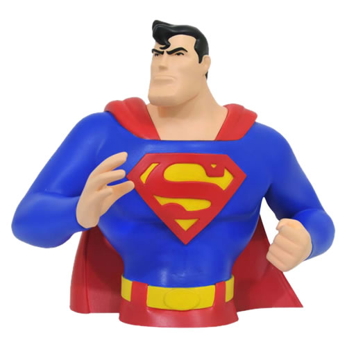 Banks - Superman Animated Series - Superman Bust Bank