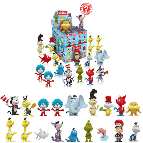 Mystery Minis Figures - Dr. Seuss - 12pc Display Series 01