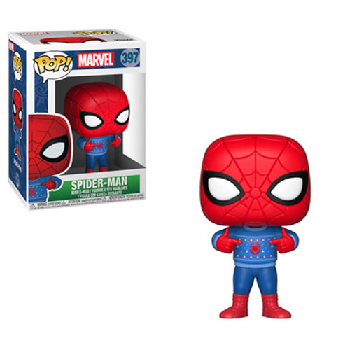 Pop! Marvel - Holiday - Spider-Man