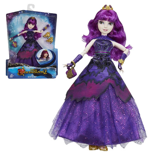 Disney Descendants Dolls - D2 - Mal Royal Yacht Ball Isle Of The Lost - AX00