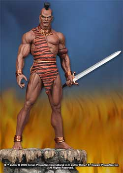 Conan The Barbarian - Zula Statue