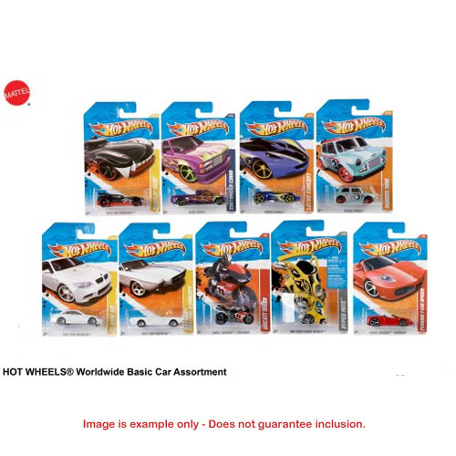 Hot Wheels - Worldwide Basic Car Asst