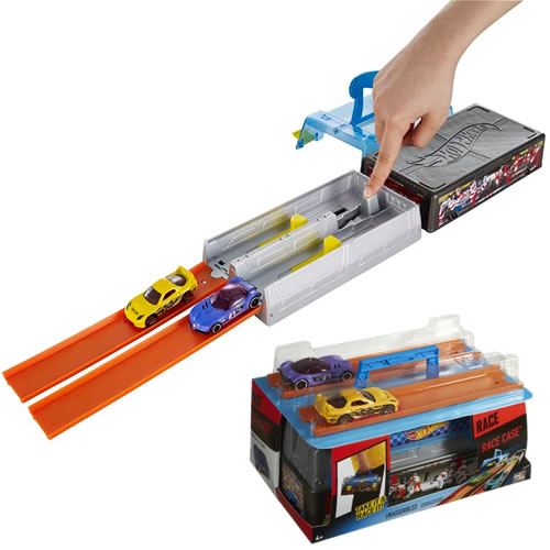 Hot Wheels - Race Case Track Set