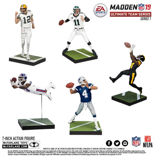 EA Sports NFL MUT 19 Series 01 Figures - Assorted Case