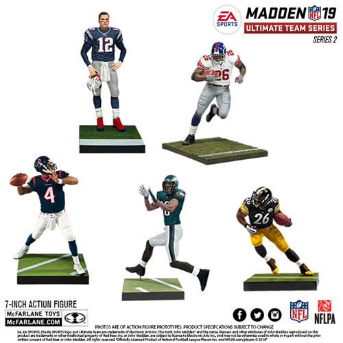 EA Sports NFL MUT 19 Series 02 Figures - Assorted Case