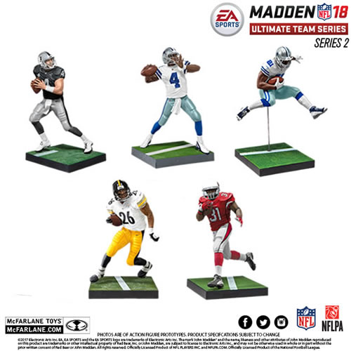 EA Sports NFL MUT 18 Series 02 Figures - Assorted Case