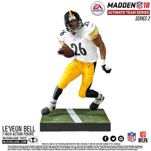 EA Sports NFL MUT 18 Series 02 Figures - Leveon Bell - Pittsburgh Steelers