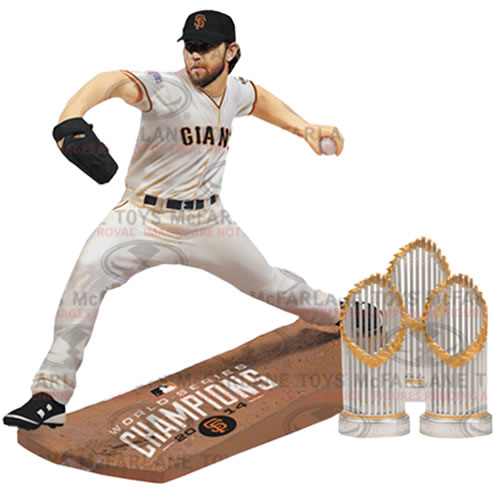 MLB Collector Box Figures - Madison Bumgarner World Series Limited Edition Collector Box