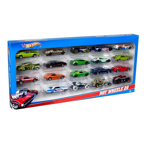 Hot Wheels - 20-Car Gift Pack Assortment