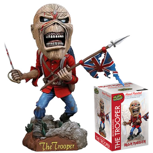 Head Knockers Figures - Music - Iron Maiden The Trooper