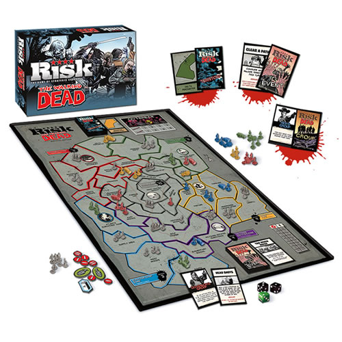 Boardgames - Risk The Walking Dead Survival Edition