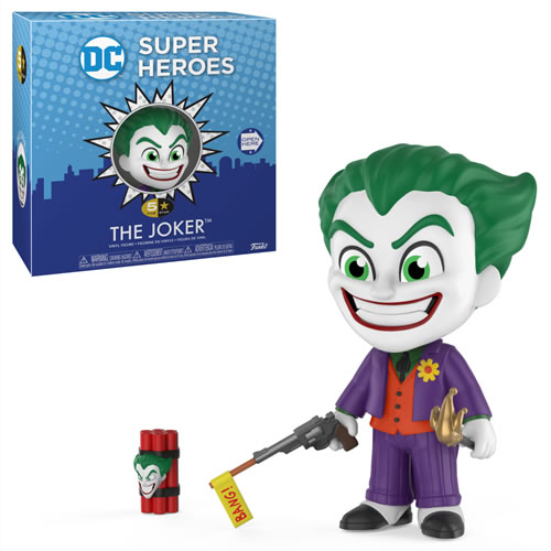 5 Star Vinyl Figures - DC Comic's - The Joker