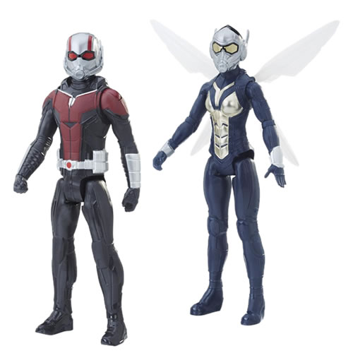 "Ant-Man And The Wasp Movie Figures - 12"" Titan Hero Series Assortment - AS00"