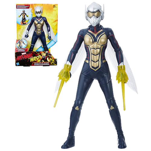 "Ant-Man And The Wasp Movie Figures - 12"" Wasp w/ Wing FX - AS00"
