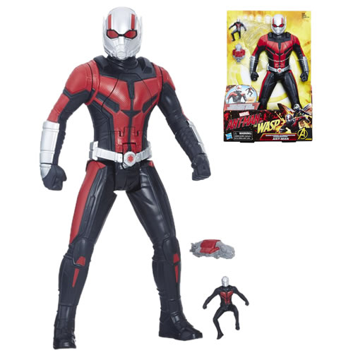 "Ant-Man And The Wasp Movie Figures - 12"" Shrink And Strike Ant-Man - AS00"